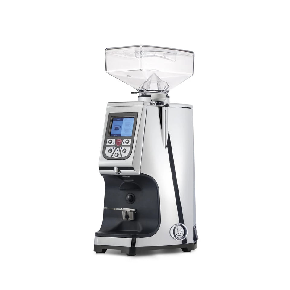 Eureka Atom Mignon Coffee Grinder Chrome 1