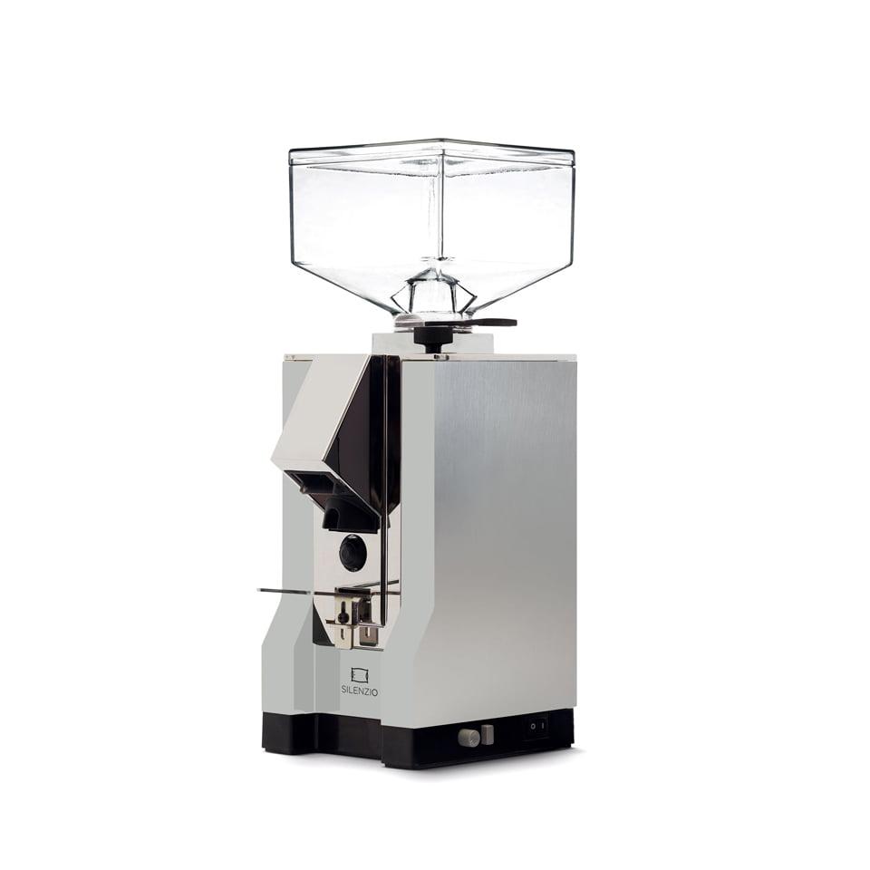 Eureka Mignon Silenzio Coffee Grinder mignon silenzio argento naturale lucidato 1