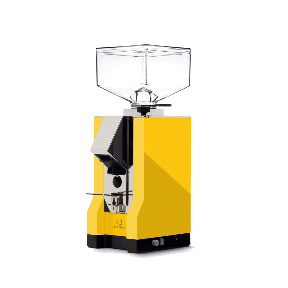 Eureka Mignon Silenzio Coffee Grinder mignon silenzio giallo 1