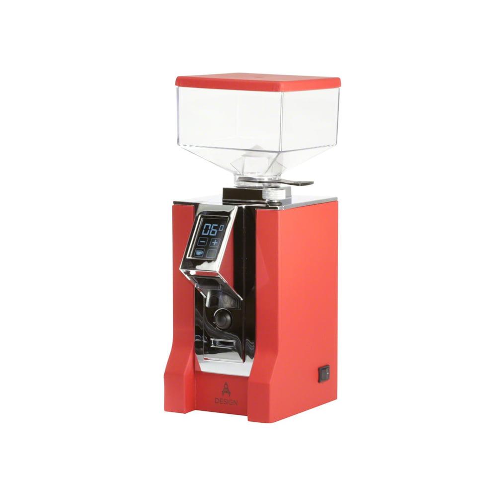 Eureka Mignon Specialita 55 Coffee Grinder Red Leather 1