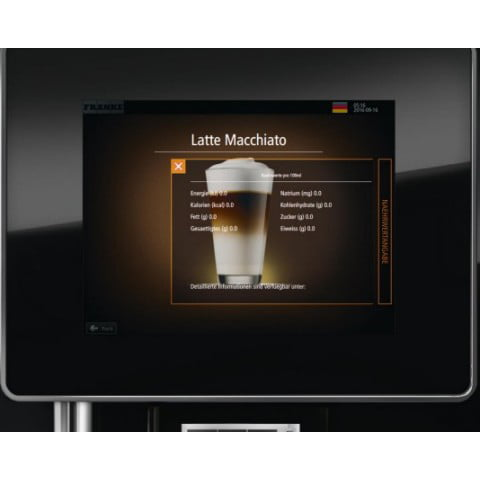Franke A400 Coffee Machine 08