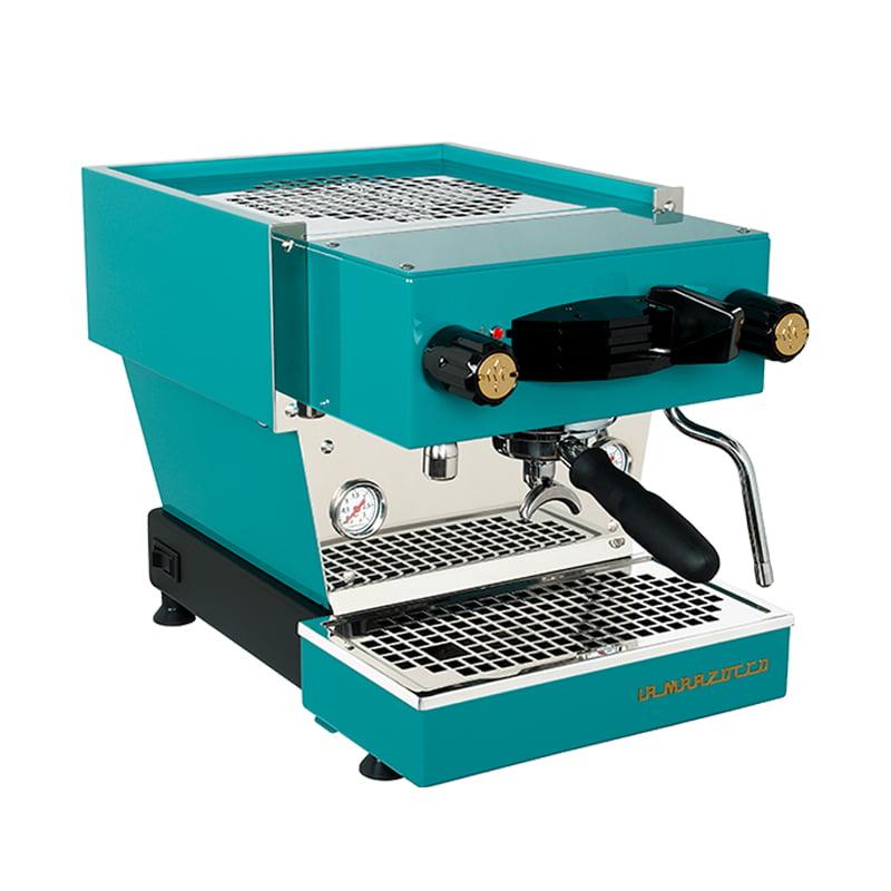 La Marzocco Linea Mini Coffee Machine blue sapphire 1