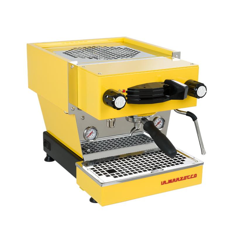 La Marzocco Linea Mini Coffee Machine yellow 1