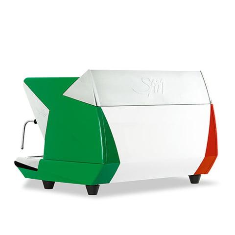 La San Marco 100 E 2 Groups Coffee Machine 14 1