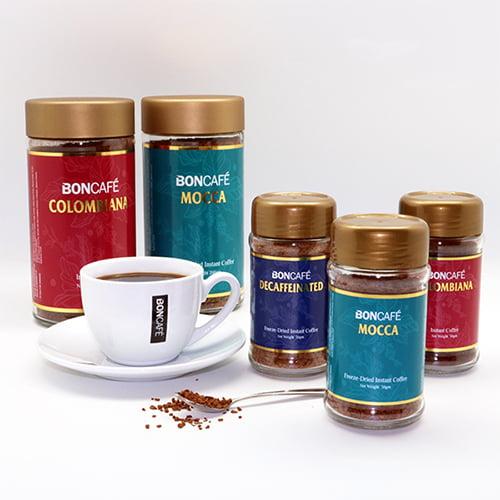 boncafe moccadecaf instant 100gjar